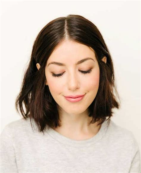 haircuts for thin hair brunette 15 popular brunette bob hairstyles short hairstyles 2017