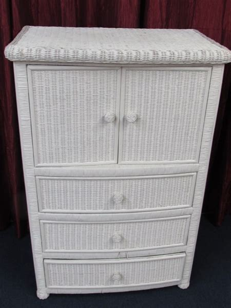 white wicker armoire lot detail white wicker armoire 33 5 quot x 50 quot tall