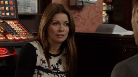 Carla Connor Wardrobe by Carla Connor Print Top On Coronation Spotted Tv