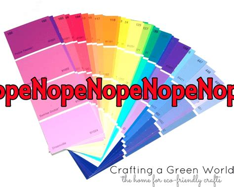 crafting a green world the home for green crafts and crafts that use paint chips choose something else