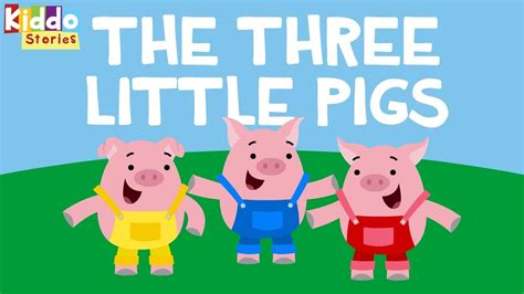 the three little pigs fairy tales the 3 little pigs story youtube