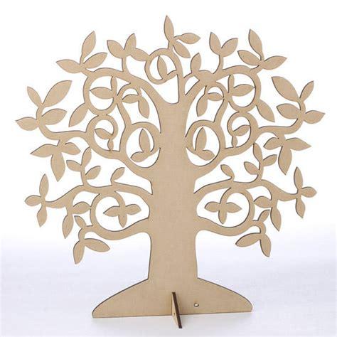 laser cut wood tree centerpiece wood cutouts