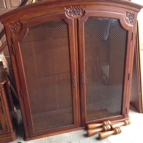 china cabinet with legs thrifty treasures hutch to china cabinet