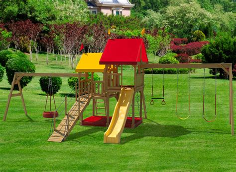 swing hours play mor 415 hours of fun wooden swing sets wooden swingsets