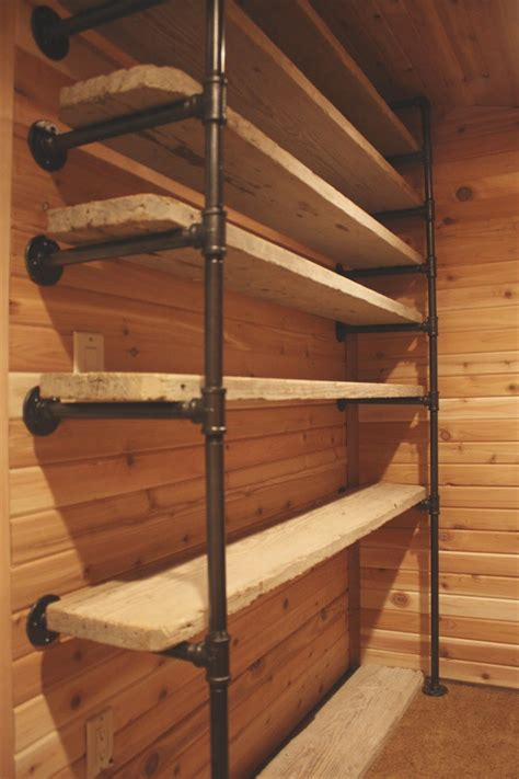 Pipe Closet Diy by Sweet Industrial Pipe Closet System