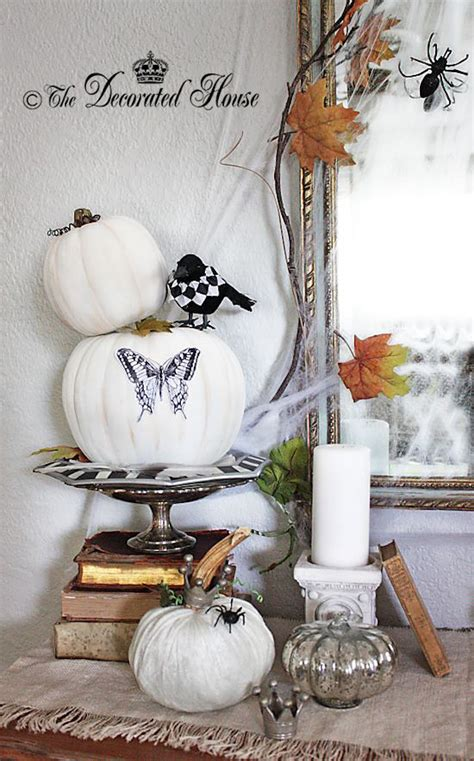 elegant halloween home decor 33 elegant white halloween decor ideas interior god