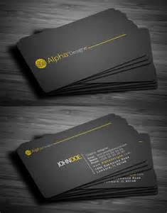 business card modern modern business cards design 25 fresh exles design