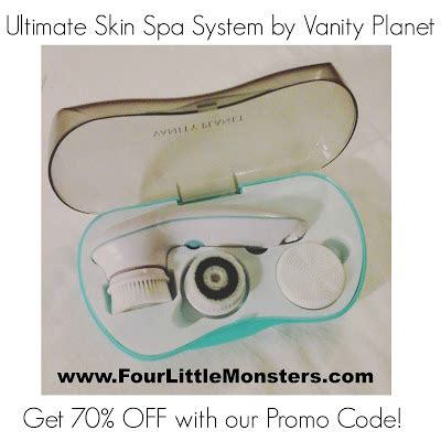Vanity Discount Codes by Ultimate Skin Spa Cleansing Brush System By Vanity Planet Review And Promo Coupon Code