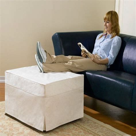 ottoman converts to a guest bed 14 best images about guest solutions on