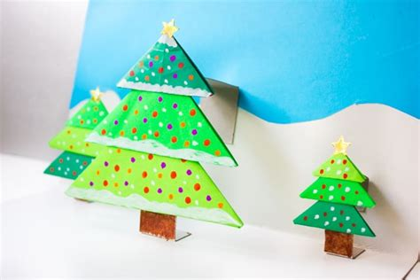 How To Make A Pop Up Tree Card