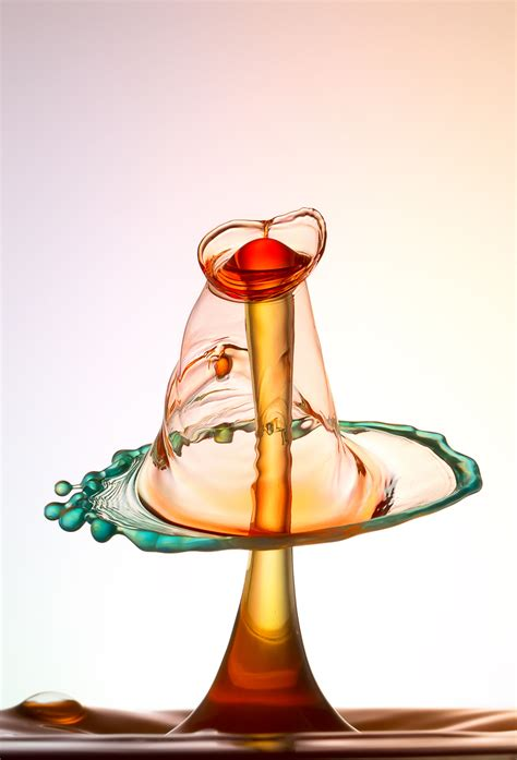 Drop By Drop Photography By Heinz Maier by High Speed Photography Heinz Maier Makes Sculptures Of