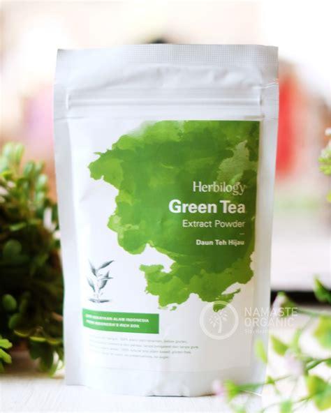 Herbilogy Extract Powder Green Tea herbilogy green tea extract powder 100gr