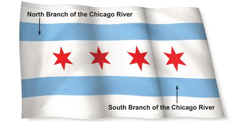 in color chicago history of the chicago flag chicago tribune