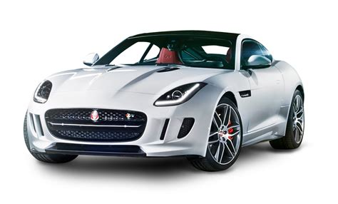 jaguar car png jaguar f type white car png image purepng free