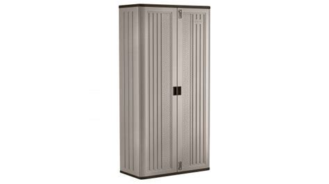 suncast mega tall storage cabinet suncast utility mega tall storage cabinet model bmc8000