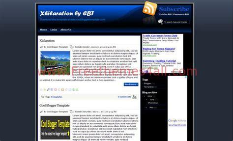 free blogger themes dark blue dark free blogger layout template download