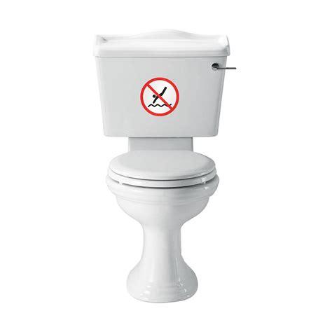 Toilet Sticker no diving vinyl sticker for bathroom toilet vinyl revolution