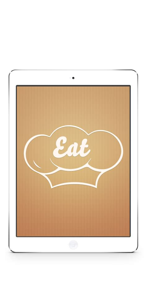 Ios Splash Screen Template Psd by Food App Template
