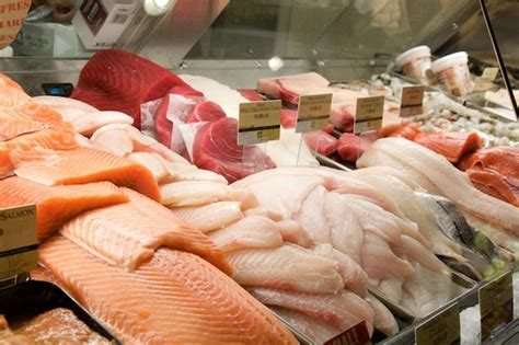 Shelf Of Fresh Salmon by Universal Misting Systems Inc Humidification Syste