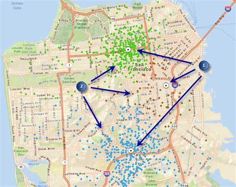 spider diagram arcgis location allocation help arcgis for desktop