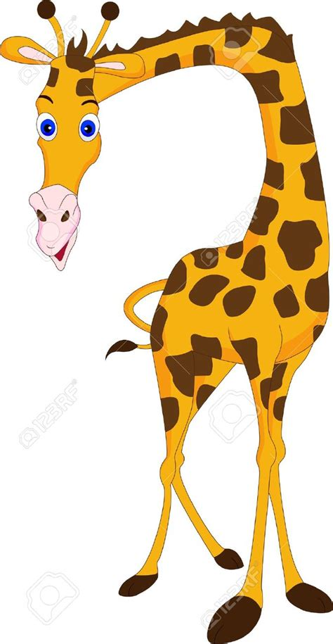cartoon forest animals giraffe pattern baby girl clothes a giraffe stock vector illustration and royalty free giraffe