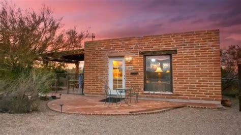 brick tiny house 330 sq ft tiny brick house in tucson arizona
