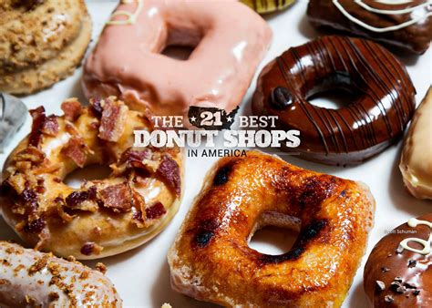 Donut Top the 21 best donut shops in america huffpost