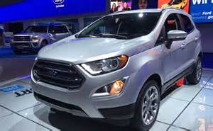 new ecosport car new ford ecosport awd to be manufactured in india will be