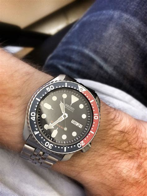 Seiko Diver Skx009 Bracelet seiko skx009 on jubilee bracelet watches seiko skx009 seiko and seiko diver