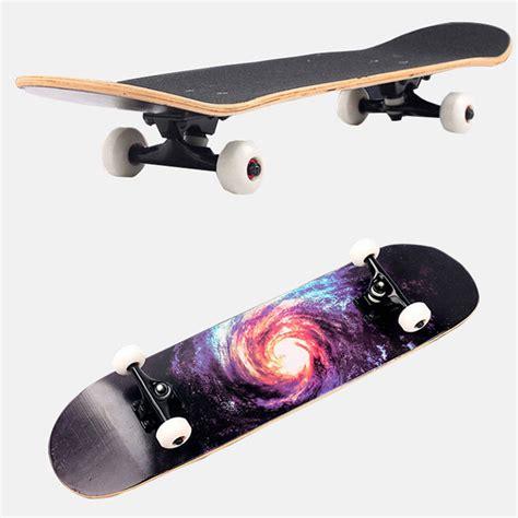 skateboard fullset maple printing profesional 8 0 model random 14 days multi color