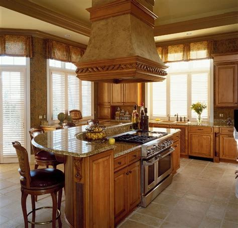 nice kitchen islands very nice kitchen in oak my future house pinterest