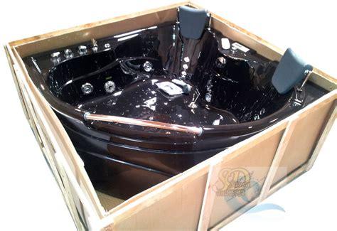 black jacuzzi bathtub black 2 person indoor hot tub jacuzzi bathtub sauna