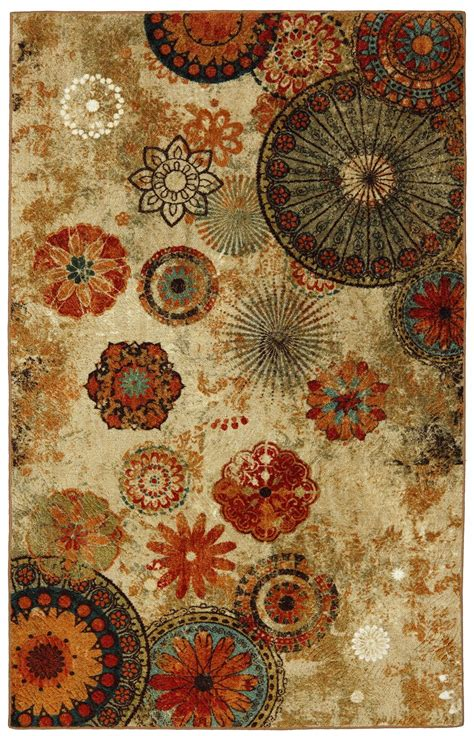 caravan medallion rug mohawk home free flow caravan medallion multi area rug rugs and decor