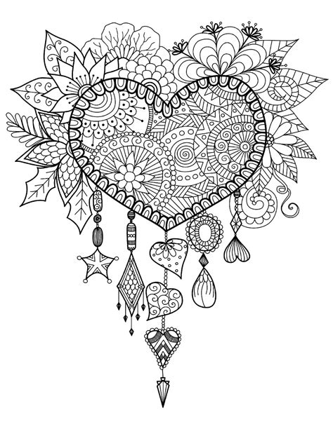 coloring for stress dreamcatcher zen and anti stress coloring pages