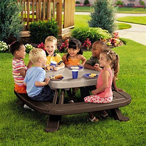 little tikes picnic bench little tikes fold n store picnic table walmart com