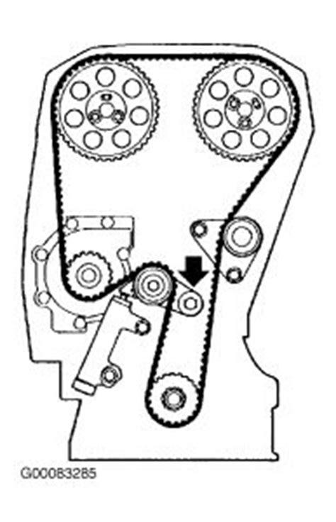 volvo  timing belt diagram  timing belt strips