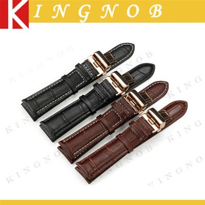 Genuine Leather Watch Band Strap Bracelet for Tissot Tudor Breitling Hours 12 13 14 15 16