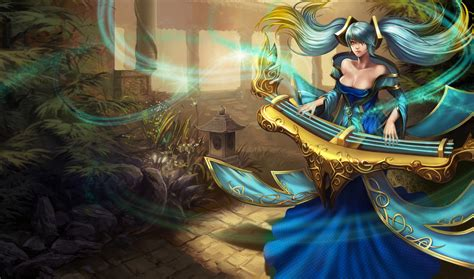 imagenes string karma league of legends wallpaper sona the maven of the strings