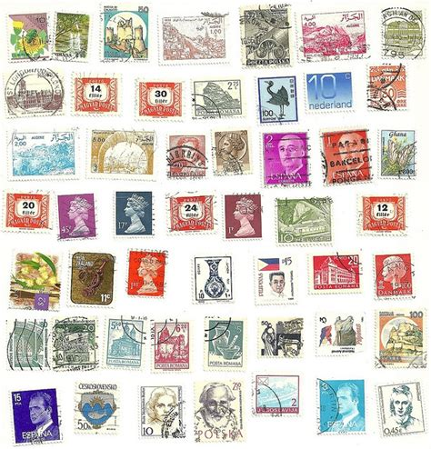 printable postcards from around the world collage for travellers sts in very many colors from