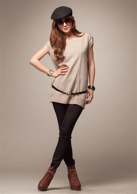 Blouse Kode Ats 1002 blouse bl1002 beige belt tamochi