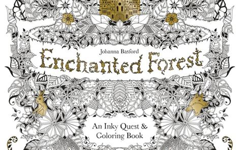 secret garden colouring book waterstones children s book of the month enchanted forest