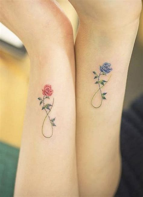 matching rose tattoos 30 of the best matching tattoos to get with your most