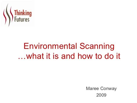 environmental scanning what it is and how to do it