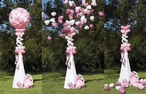 Wedding Aisle Balloons by 9 Best Weddings Outdoor Balloons Images On