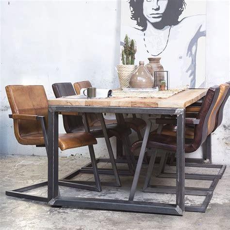 Esstisch Holz Metall Design by Design Tisch Holz Metall Rheumri