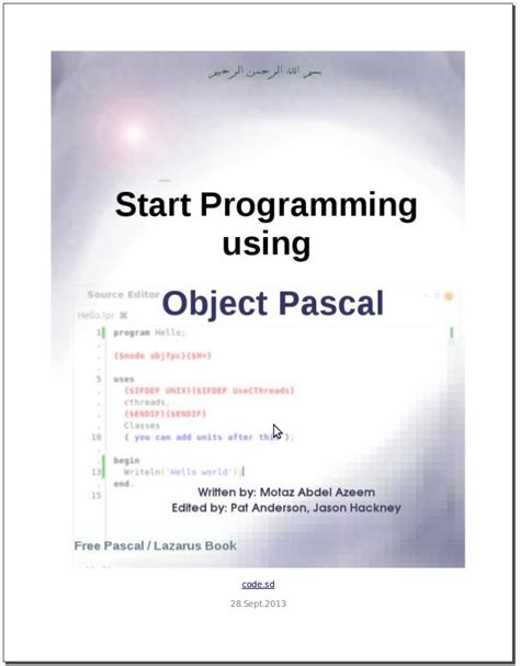 delphi tutorial for beginners pdf object pascal tutorial pdf beamutorrent