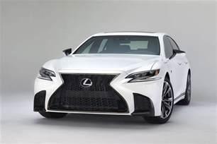 Ls500 Lexus 2018 Lexus Ls 500 F Sport Adds Giddy Up To Posh Flagship