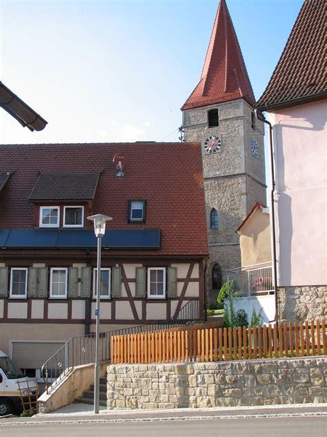creglinger bank kirche