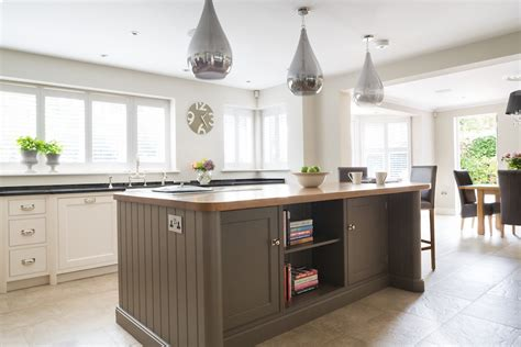 luxe contemporary family kitchen brentwood essex kitchen island inspiration