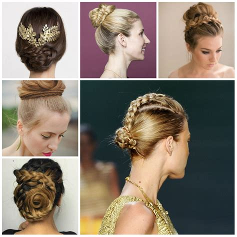 Braided Bun Hairstyles by 2017 Amazing Braided Bun Hairstyles Hairstyles 2018 New